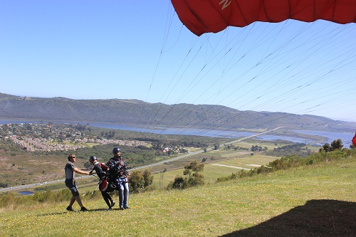 Paragliding Launch Weg magazine