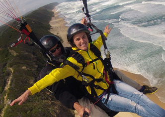 Tandem Paragliding in the Garden Route