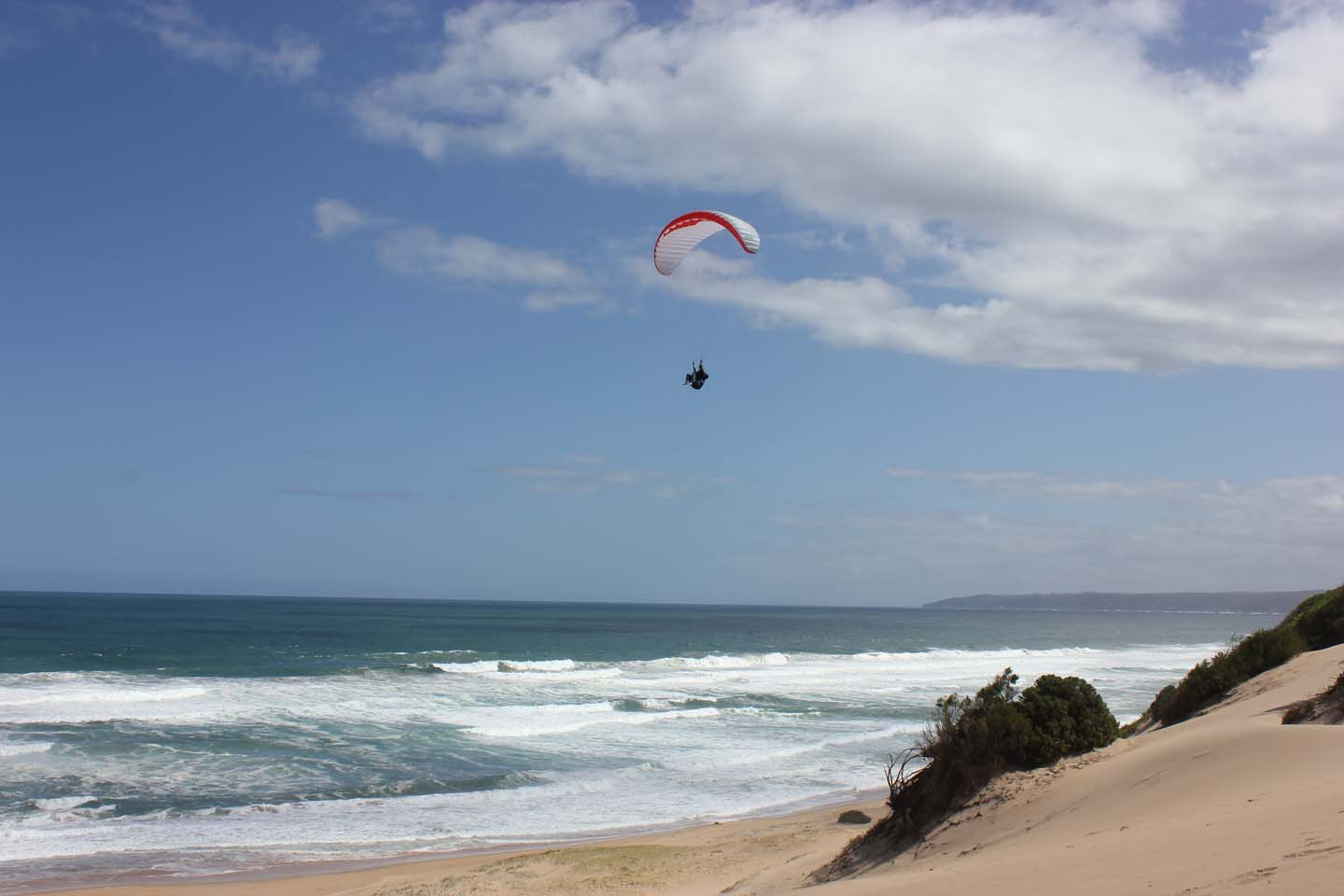 paragliding training
